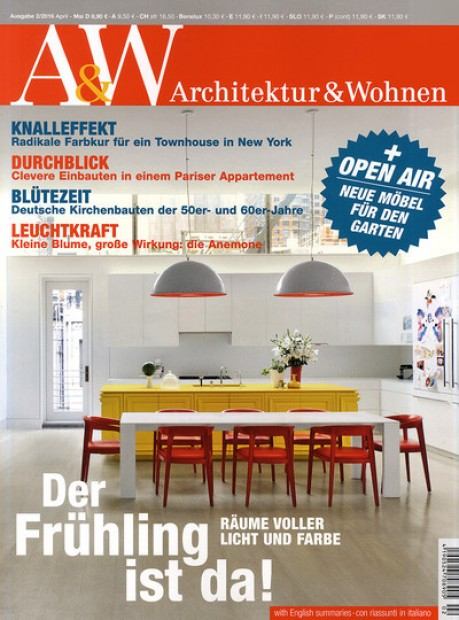 a w architektur wohnen im abo zeitschriften mit pr mien. Black Bedroom Furniture Sets. Home Design Ideas