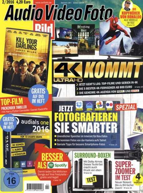 audio video foto bild mit dvd im abo zeitschriften mit. Black Bedroom Furniture Sets. Home Design Ideas