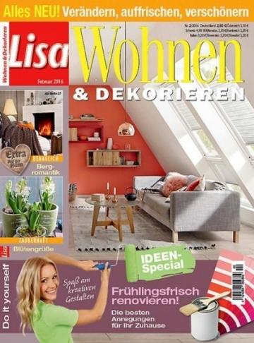 lisa wohnen dekorieren im abo zeitschriften mit pr mien. Black Bedroom Furniture Sets. Home Design Ideas