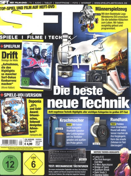 sft im abo zeitschriften mit pr mien. Black Bedroom Furniture Sets. Home Design Ideas