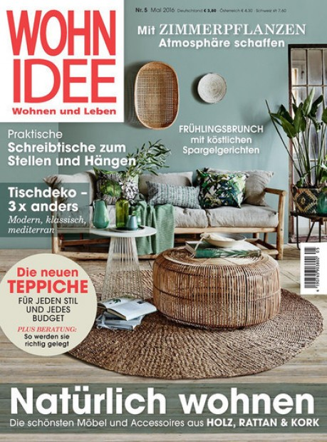 wohnidee im abo zeitschriften mit pr mien. Black Bedroom Furniture Sets. Home Design Ideas